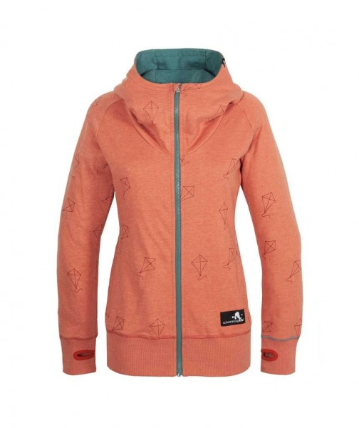 Women Kitesurf Zip Hood Sweat | Drachen