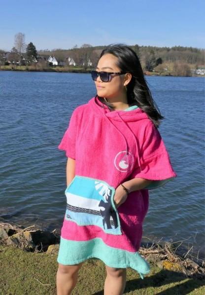 Poncho Pink 4022